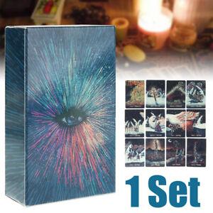 Details About 78 X Deck Tarot Cards Diy Silver Plating Tarot Board Game Uk