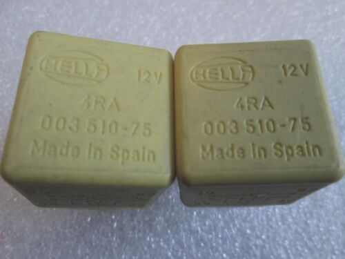 93-2000 VOLVO 740 850 C70 S70 V70 RELAY 9128164 4RA 003 510-75 OEM HELLA 2PCS