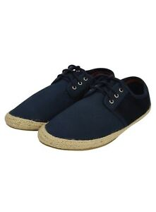 Zapatillas-para-hombre-Zapatos-De-Lona-Con-Cordones-Bombas-Plimsolls-Daps-nuevo-verano-Playa