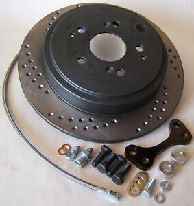 Rear Disc Brake Rotors Pair 1997-2001 Honda Prelude