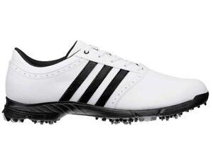 Adidas-Traxion-Classic-Golf-Shoes-White-Black