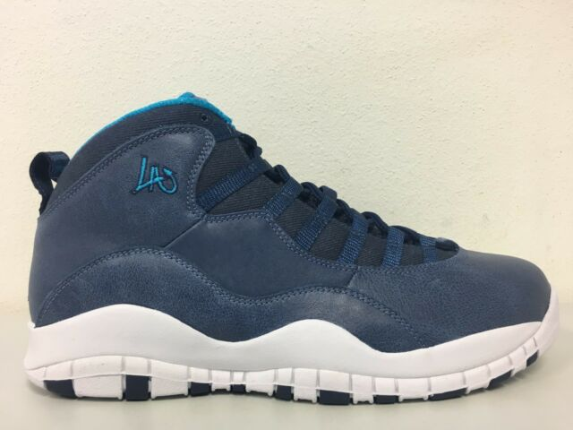 wholesale dealer 8ae17 0111e Frequently bought together. Nike Air Jordan 10 Retro LA City Los Angeles ...