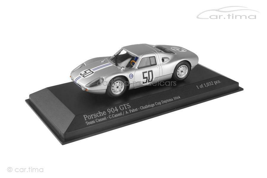 Porsche 904 GTS-conitinental Cup Daytona 1964-Minichamps 1 43 - 400646550