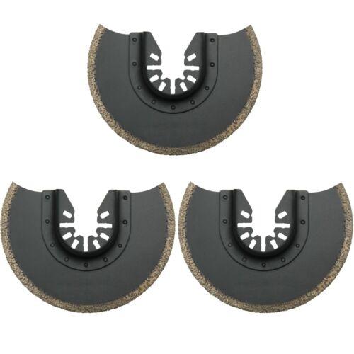 3x Lame scie segmentée diamant Ø 88 mm Pour Multi Master Outil multifonction//b23