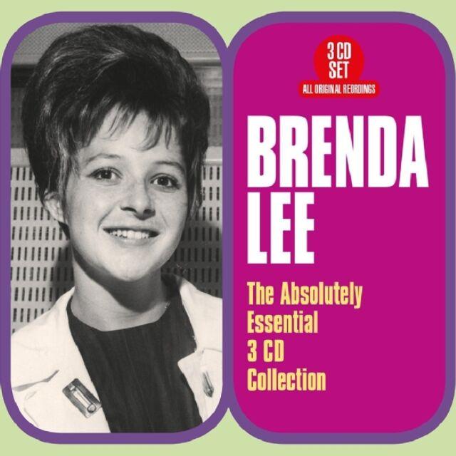 BRENDA LEE - ABSOLUTELY ESSENTIAL  3 CD NEUF