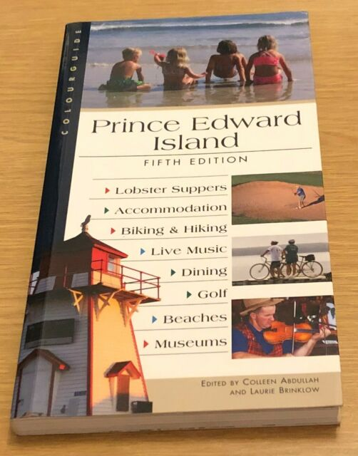 PRINCE EDWARD ISLAND Fifth Edition Book (Travel Guide)