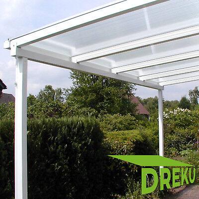 Garden Structures & Shade Brilliant Terrassendach 7,0 X 3,5 M Alu Stegplatten Überdachung Terrassenüberdachung