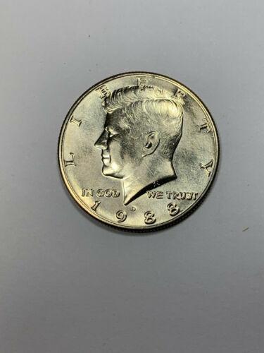 BU 1988 D Kennedy Half Dollar