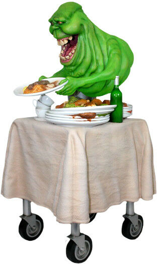 GHOSTBUSTERS - Slimer 1 1 1 4 Scale Statue (Hollywood Collectibles)  NEW 19f129