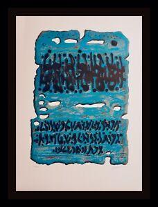 Moshe Castel King Solomon's Mine Hand Signed & Number $99 END OF SUMMER SALE