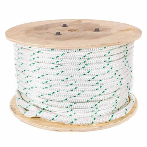Composite Poly Double Braid Cable Pulling Rope Up to 18,000Lbs Break Strength