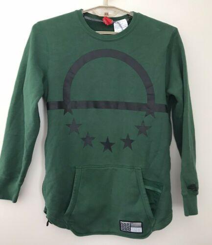 Nike  Mens L Air Pivot Green Crewneck Sweatshirt S