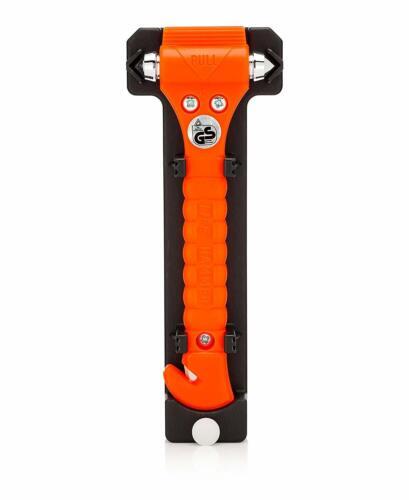 Lifehammer-de escape y rescate herramienta con cortador de cinturón de seguridad