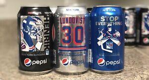 Henrik Lundqvist Pepsi Cans Complete Set Ny Rangers Ebay
