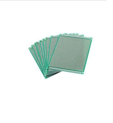 10Pcs doble lado 7cmx9cm Protoboard circuito Universal Hazlo tú mismo prototipo PCB Board