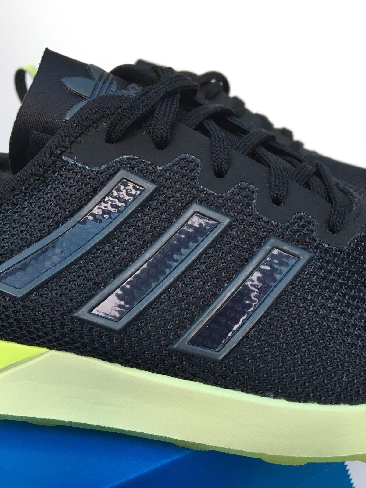 Adidas Zx Flux Adv Adv Adv Zapatillas Aq4906 UK 9 Nuevo en Caja Negro Halo 346e9d