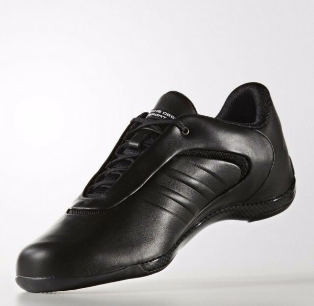 Adidas Porsche Design Drive Athletic III Black Shoes Bounce Mens Leather  B34158