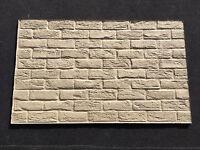 3 X Rustic Antique Brick Effect Vermiculite Fire Boards 1000mm X 610mm X 16mm