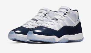 Nike Air Jordan 11 Size 10 Win Like 82 Retro XI 378037-123 space jam concord 96