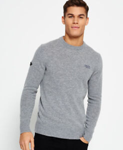 Pull-a-col-rond-Harlo-Pour-homme-Gris-Marne