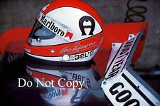 Clay Regazzoni Ferrari 312T Austrian Grand Prix 1975 Photograph 3