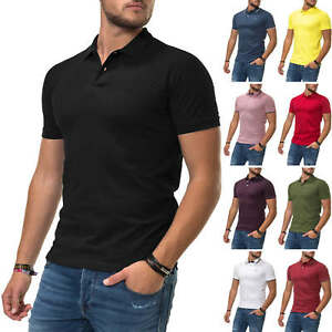 Jack-amp-Jones-senores-camiseta-polo-de-manga-corta-Camisa-Business-ocio-camisa-color-Mix-nuevo