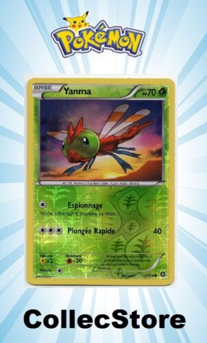 ☺ Carte Pokémon Yanma REVERSE 6//114 VF NEUVE XY11 Offensive Vapeur