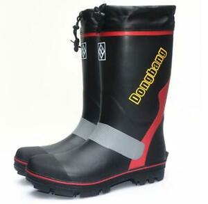Détails sur Men's Wellington Boots Wellies Chasse Pêche Tir antidérapante Bottes Hautes afficher le titre d'origine
