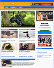 Digital Camera Photography Website Business For Sale Work From Home Business