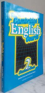 1989 The Cambridge English Carreras 2 ESTUDIANTE Book M. Swan IN8 Demuestra Tbe