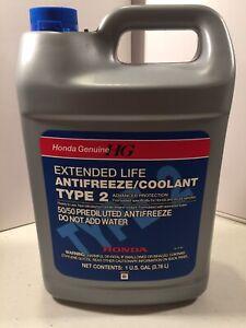 Details about 1 Genuine Honda Acura Long Life Antifreeze / Engine Coolant on