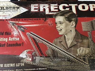 """A.C Original Gilbert Erector Set /""""AQ/"""" Sheave Pulley"""
