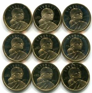 ROLL of 20 2004 S PROOF SACAGAWEA DOLLARS Twenty Native American Coins Roll