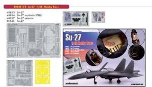 Eduard 1/48 Sukhoi Su-27 Big-ed Set # 49172