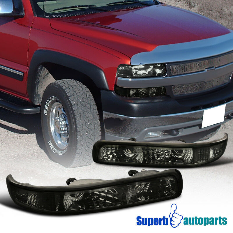 Vaorwne Car Fog Lights Bumper Driving Lamp Daytime Running LED Light for Chevy Silverado 1999-2002 Tahoe Suburban 2000-2006