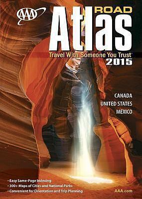 AAA ROAD ATLAS 2015 - AAA (PAPERBACK) NEW