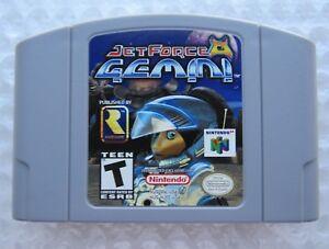 GREAT-Jet-Force-Gemini-Nintendo-64-N64-Video-Game-Retro-Super-Fun-FPS-Shooter