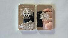 Deutsche Reichsbank Eisernes Kreuz EK Silberbarren 1 OZ Silber versilbert