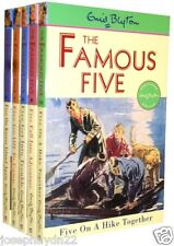 NEW SET of 5 x FAMOUS BOOK 6 -10 Enid Blyton 6 7 8 9 10  (NEXT FIVE ADVENTURES)