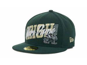 3842da3c277 Notre Dame Fighting Irish New Era 59FIFTY NCAA Fitted Cap Hat - Size ...