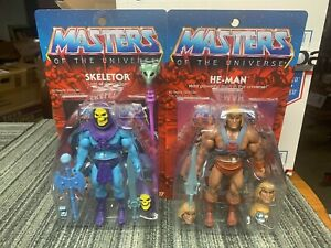 Club-Grayskull-Ultimate-skeletor-he-man-2-LAUGHING-HEADS-no-mailer-boxes