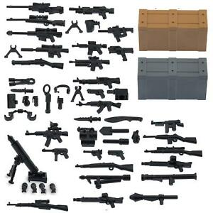 Custom-Minifigure-Military-Army-Guns-Weapons-Compatible-for-Lego-Set-Accessories