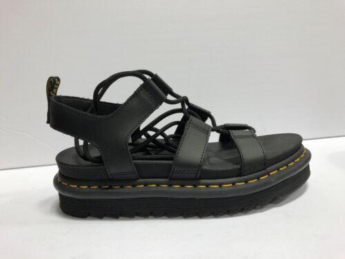 Dr. Martens Nartilla Sandals Black Size US8 EUR39