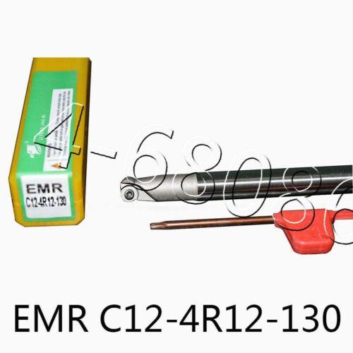 EMR C12-4R12-130 12×130mm Φ12mm indexable end mill holder end milling cutter