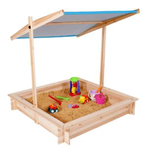 Bac à sable KIDS bois avec toit ouvrant