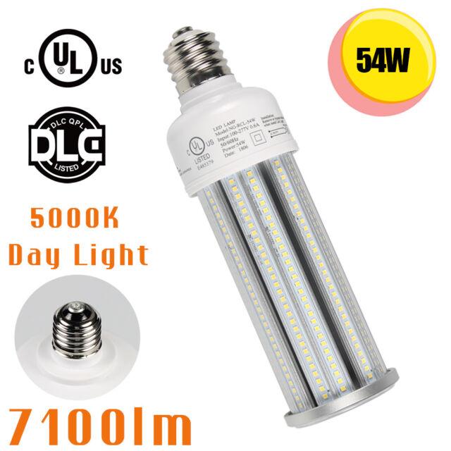 ETL DLC 150W LED retrofit kit parking lot Shoebox light E39 mogul 6000K daylight