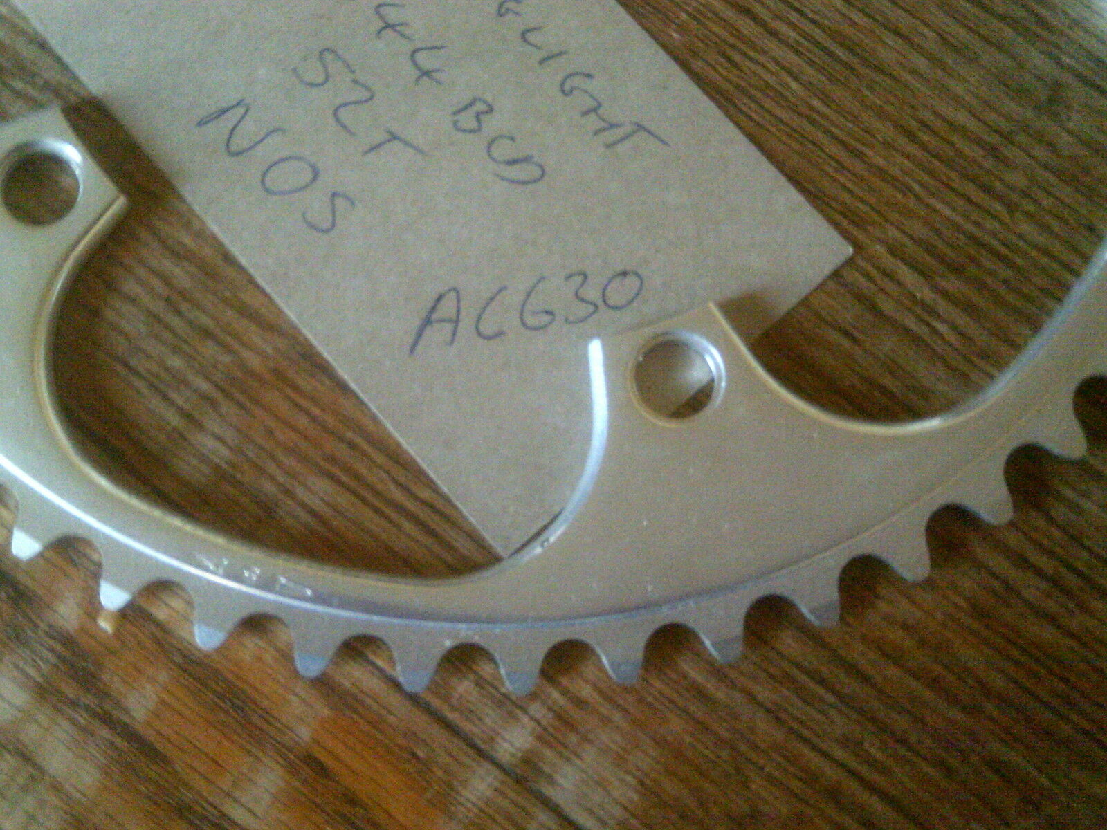 NOS 52 52 52 TOOTH STRONGLIGHT  144BCD  CHAINRING e189ee