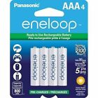 Panasonic Eneloop AAA 2pack 2*4 8 Rechargeable Batteries up to 2100 Charges NEW