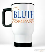 Bluth Company Travel Coffee Mug Funny Arrested Development Inspired Tv Novelty
