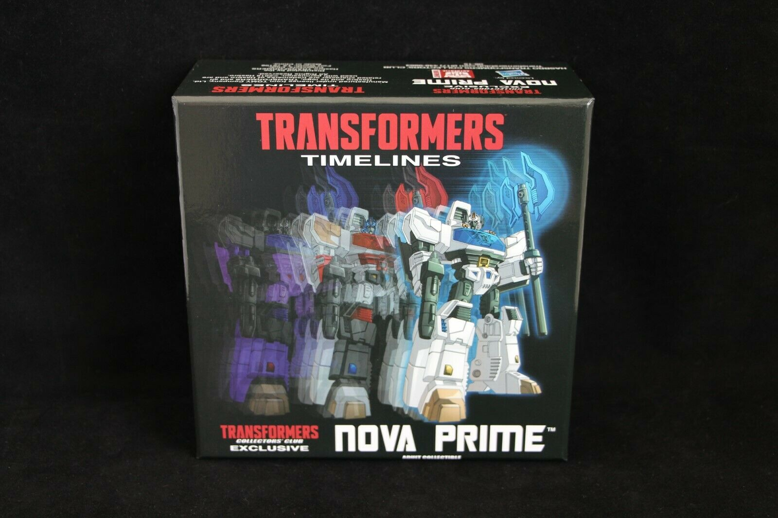 Transformers Collector's Club Exclusive TFCC Botcon Nova Prime cifra MISB